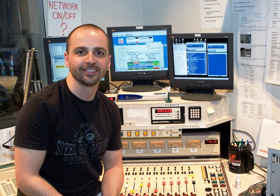 Tim Wohlberg at CKNW, Vancouver